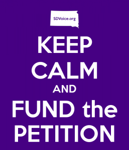 Keep Calm and Fund the Petition: SDVoice