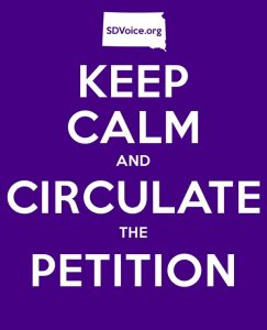 Keep Calm and Circulate the Petition SDVoice